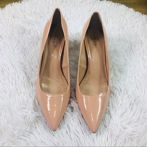 Tahari Harper Patent Leather Pointy Toe Pump SZ 8